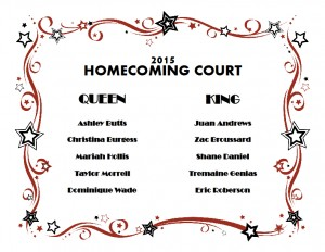 Homecoming Court