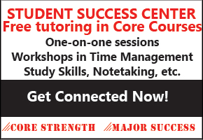 Need help with classes? Contact the Student Success Center!