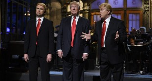 "Republican presidential candidate Donald Trump hosted on ""Saturday Night Live"" on Nov. 7. (Photo Courtesy: Dana Edelson/NBC.com)"
