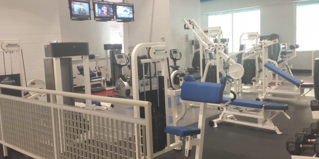 The Campus Recreation Center  circuit room will be replaced by  with a cross fit training  room within two months. All the current equipment  will be removed. (Photo Courtesy Tierra Bell/THE SPECTATOR)