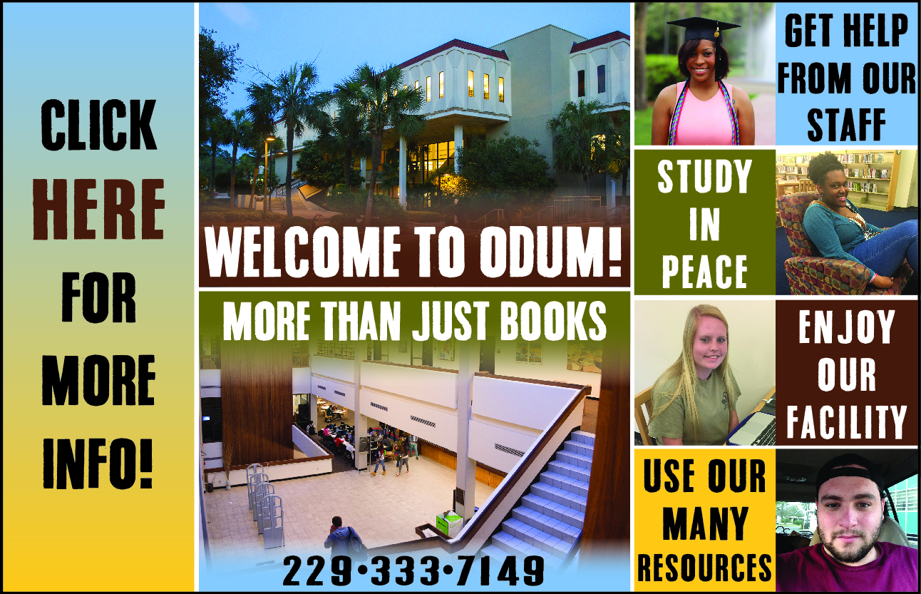 Odum Library - More Than Just Books!