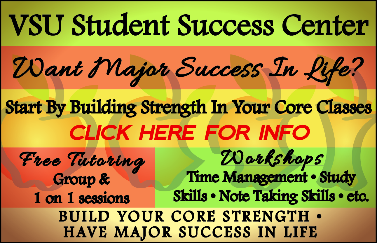 Need help with courses? Contact the Student Success Center!