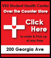 VSU Student Health Center - Oder OTC Meds Online & Pick Up Now - Available for Students, Staff & Faculty