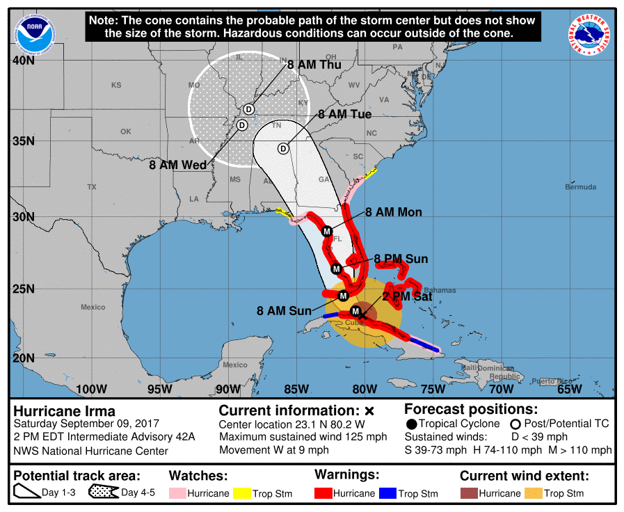 Hurricane Jose remains a risky Category 4 storm