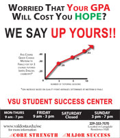 Student Success Center can help you! Click here to set up an appointment.