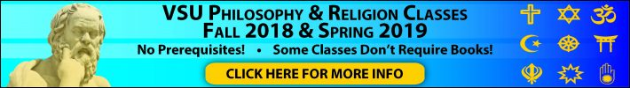 Interested in Philosophy and/or Religious Studies? Click Here!